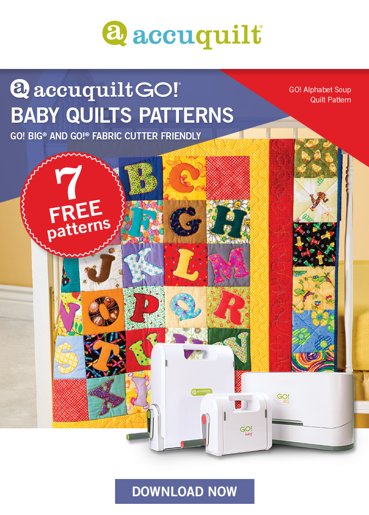 AccuQuilt GO! Baby Quilts Patterns