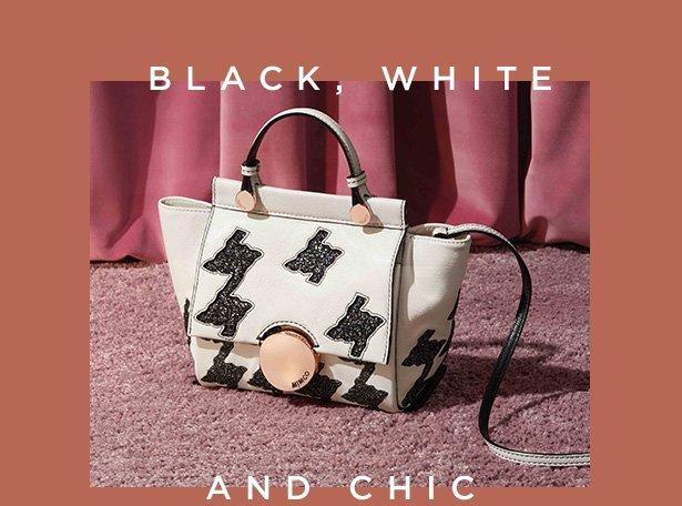 Black, white and chic