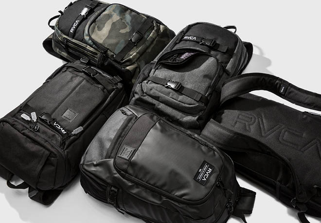 RVCA  Introducing The Specialty Backpack Collection  fb92531752f07