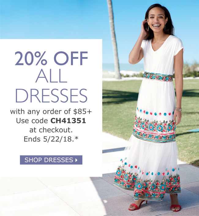 Chadwicks 20 Off Dresses Ends At Midnight Milled
