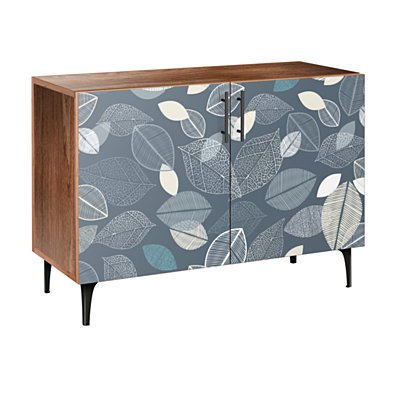 Botanical Blues Arc Credenza