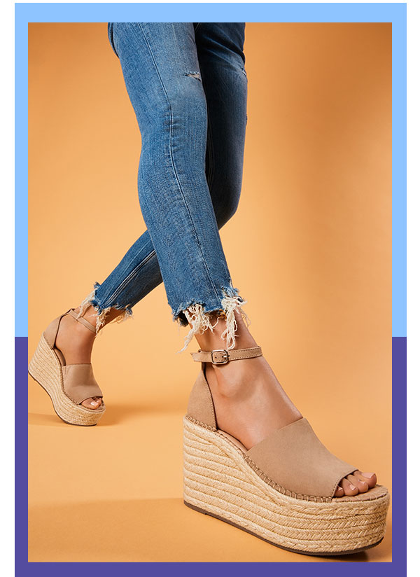 b127adf1d55 Steve Madden: The perfect wedge espadrille has arrived. | Milled
