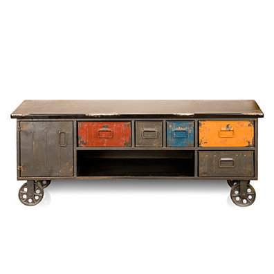 Arts District Metal Cabinet