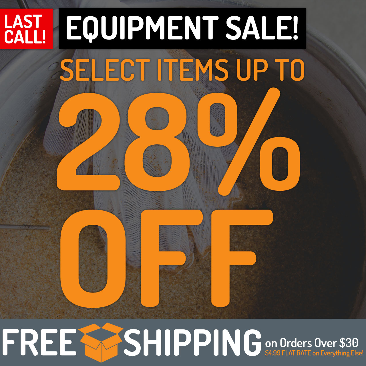 Save up to 28% on select equipment.