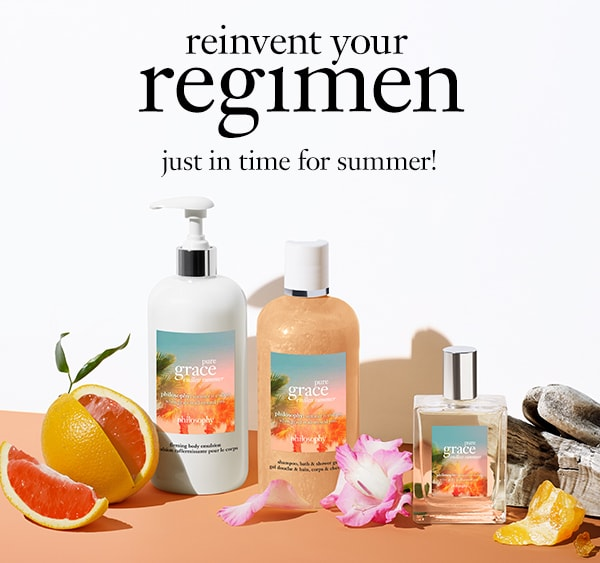 reinvent your regimen just in time for summer!