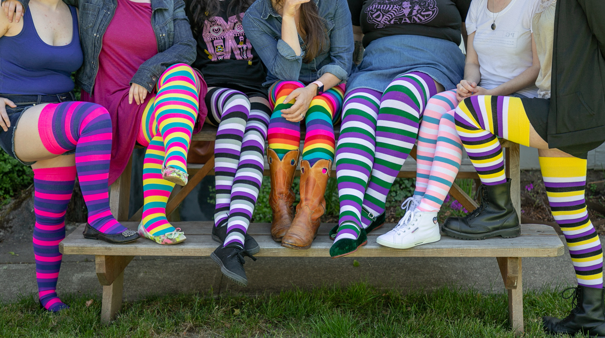 a89e1d500 Sock Dreams  Proud Styles for Pride Month!