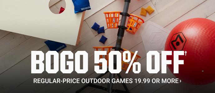 BOGO 50% OFF Regular-price Outdoor Games 19.99 or More | SHOP NOW