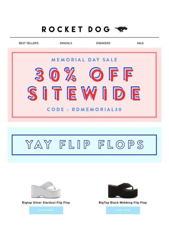 165af9a2e01e Rocket Dog Brands  30% Off Flip Flops!!