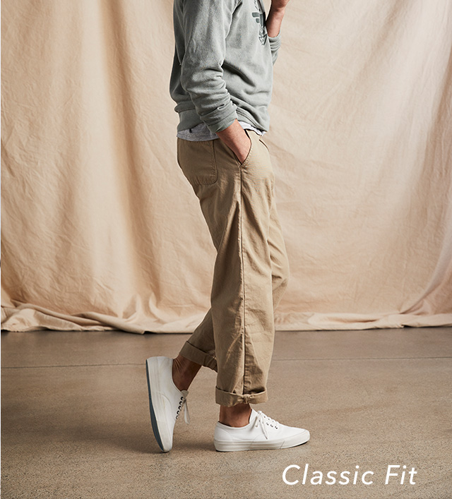 SHOP CLASSIC FIT KHAKIS