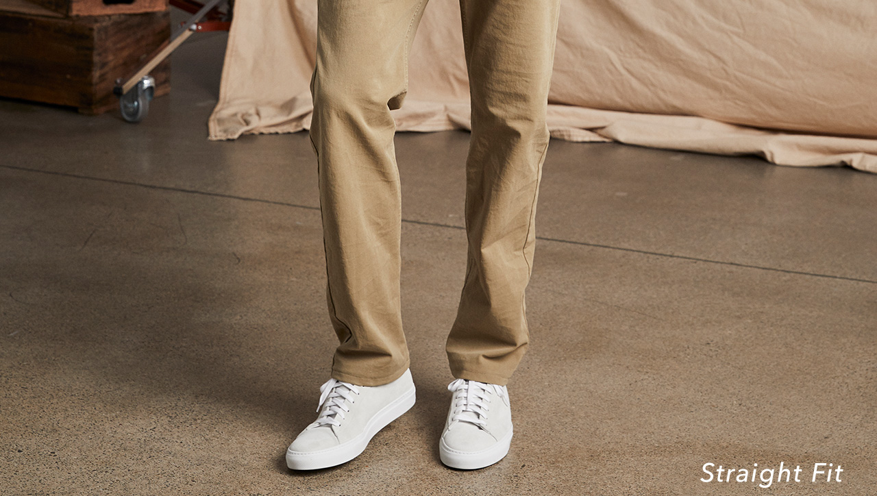 SHOP STRAIGHT FIT KHAKIS