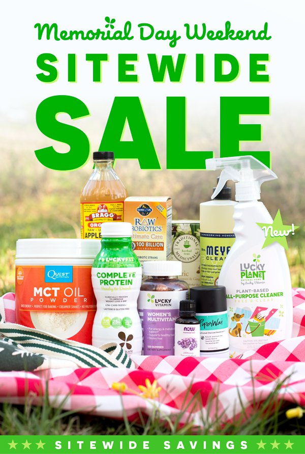 Memorial Day Weekend Sitewide Sale!