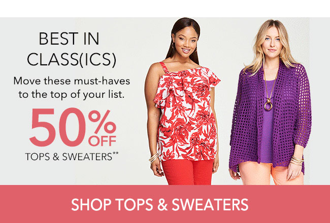Shop Tops and Sweaters