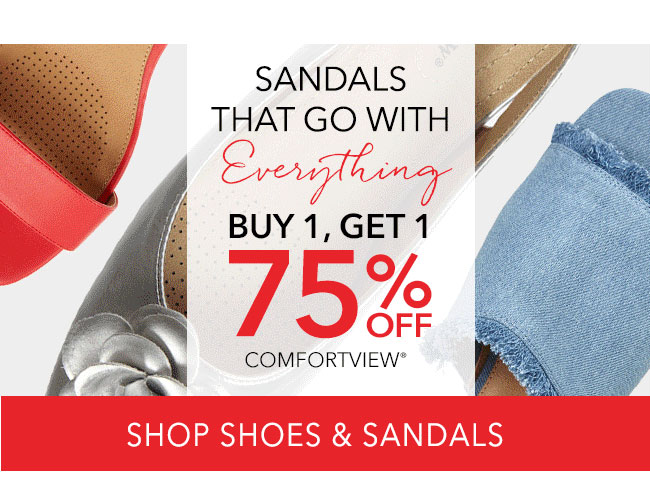 Shop Shoes and Sandals