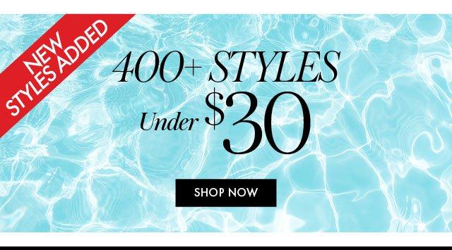 400 styles under $30 BB