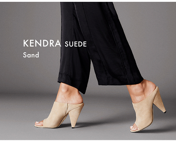 Kendra - Suede Sand