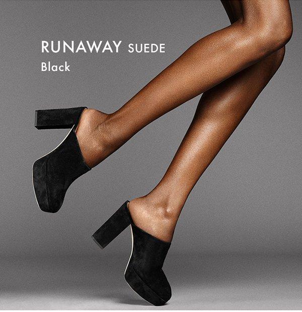 Runaway - Suede Black
