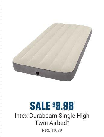 SALE $9.98 - Intex Durabeam Single High Twin Airbed | Reg. 19.99
