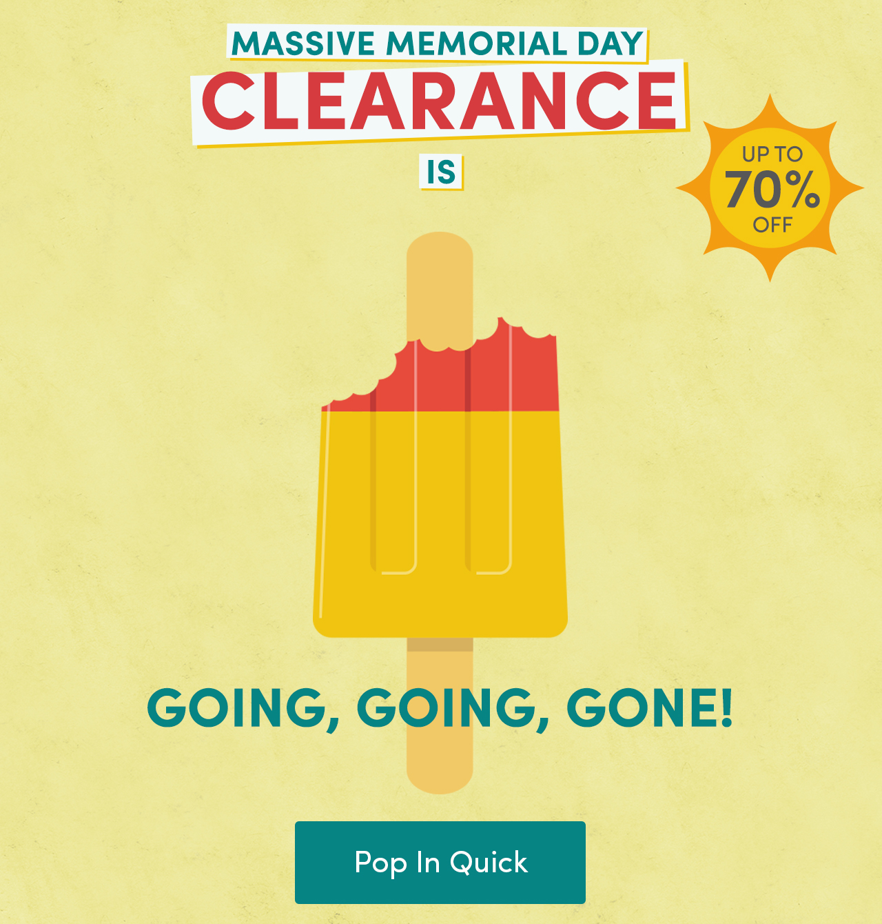 Wayfair: MEMORIAL DAY CLEARANCE ENDS TONIGHT. No time to lose ...