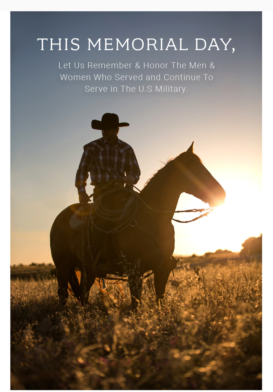 Stetson Happy Memorial Day From Stetson Milled
