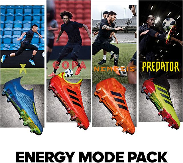 Adidas: New Energy Mode Pack is Exclusively Available   Milled