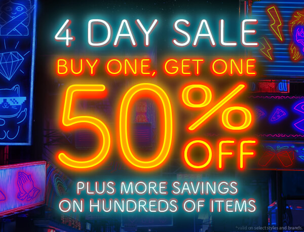 The 4 Day Sale IS ON - Shop Now