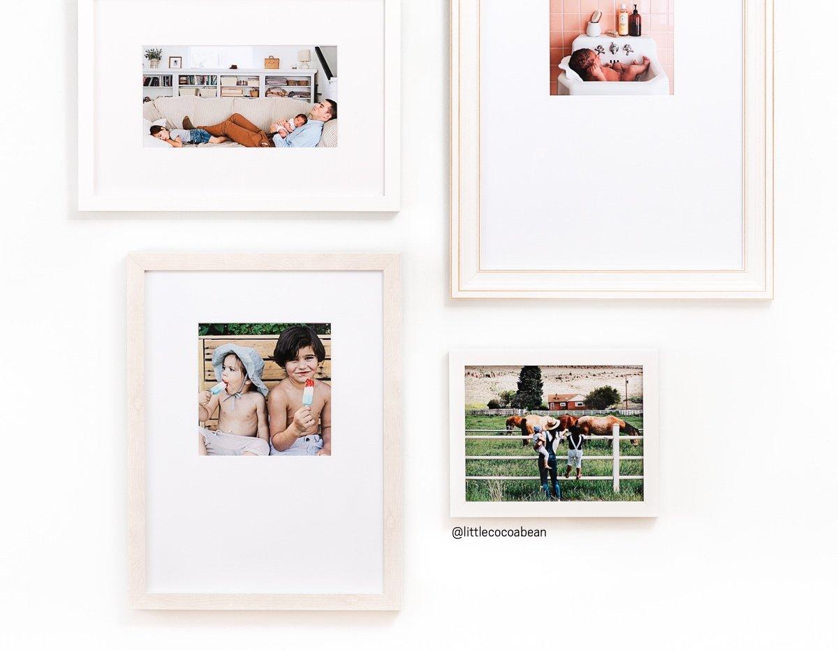 Framebridge: Last chance for 20% off white frames + gallery walls ...