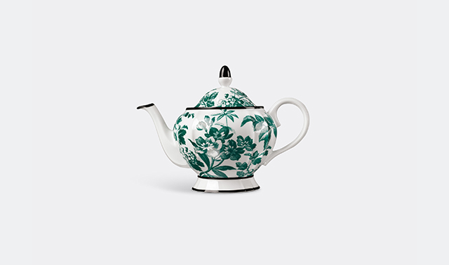 'Herbarium' teapot by Alessandro Michele for Gucci