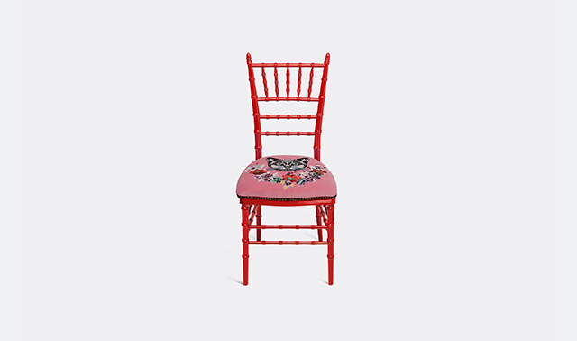 'Chiavari' chair by Alessandro Michele for Gucci