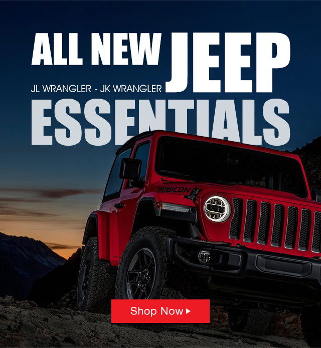 4WD Jeep Wrangler JL Parts and Accessories!