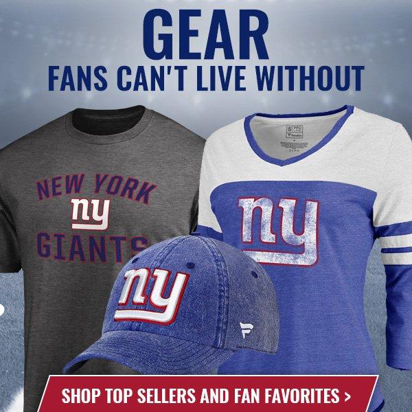 0d93864570f NY Giants Fan Shop  Free Shipping On All Orders + Top Selling Gear ...