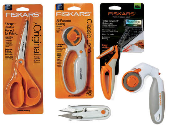 Buy One Get One Fiskars Sewing and Quilt Cutting Tools.