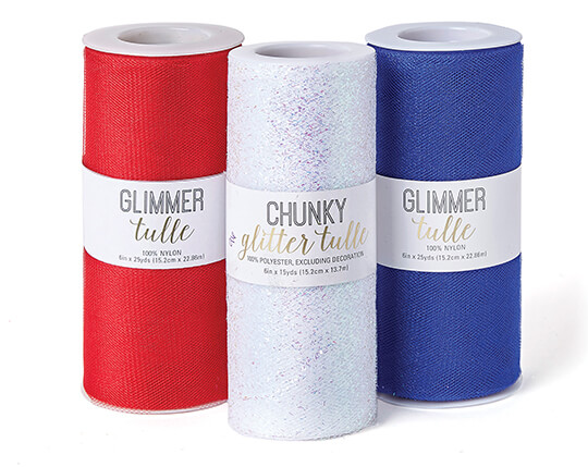 Buy One Get One 6 inch Tulle Spools.