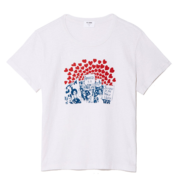 RE/DONE Women of the World Classic Tee $95