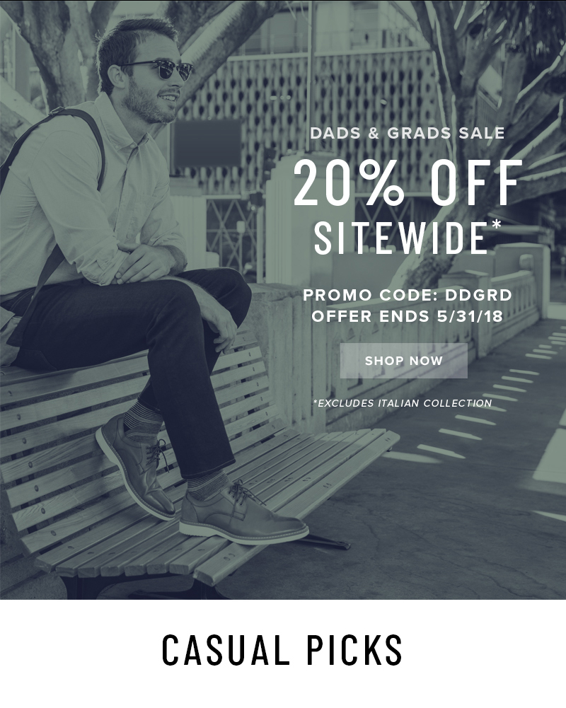 ENDS SOON! Enjoy 20% off SITEWIDE when you use promo code