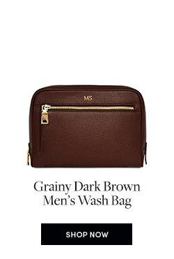 Mon Purse   Shop Now For Men s Wash Bag in Grainy Dark Brown 789112c400