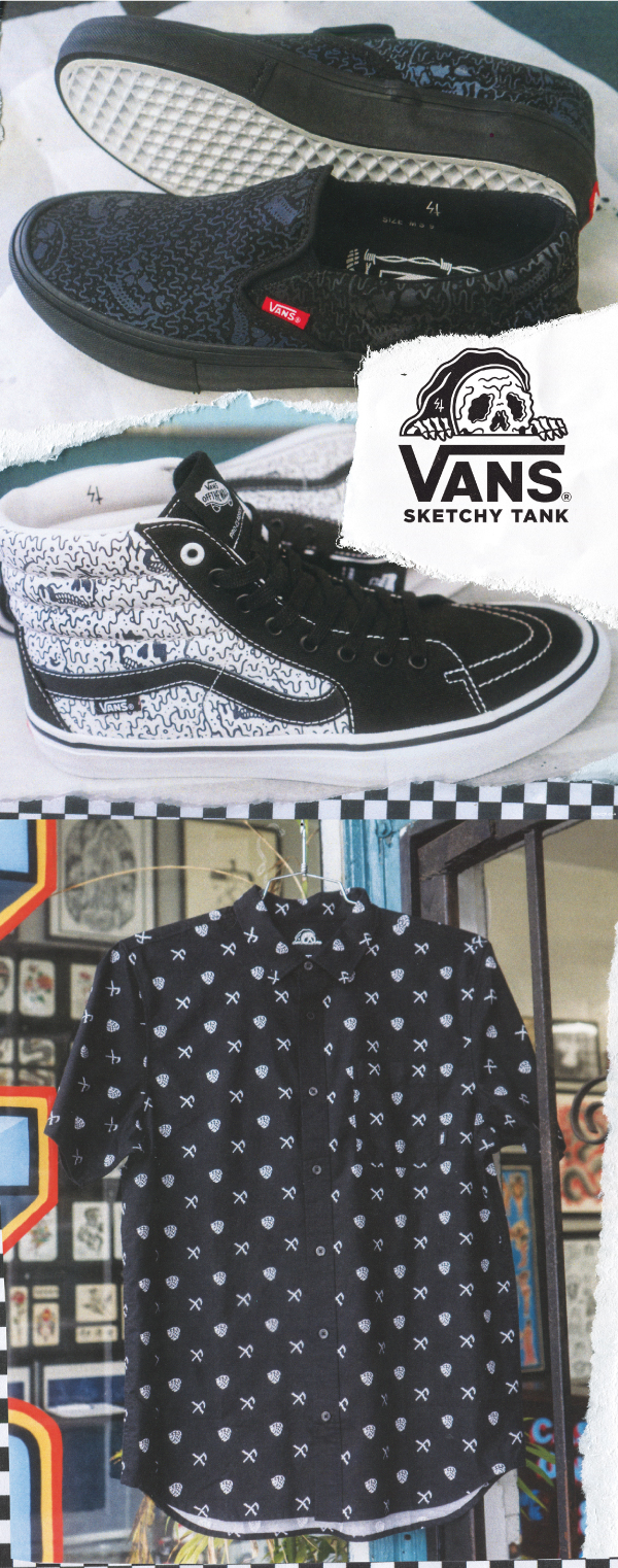 Shop The New Collection - VANS X SKETCHY TANK - Shop Now