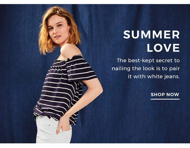 New month + new tops = 30% off