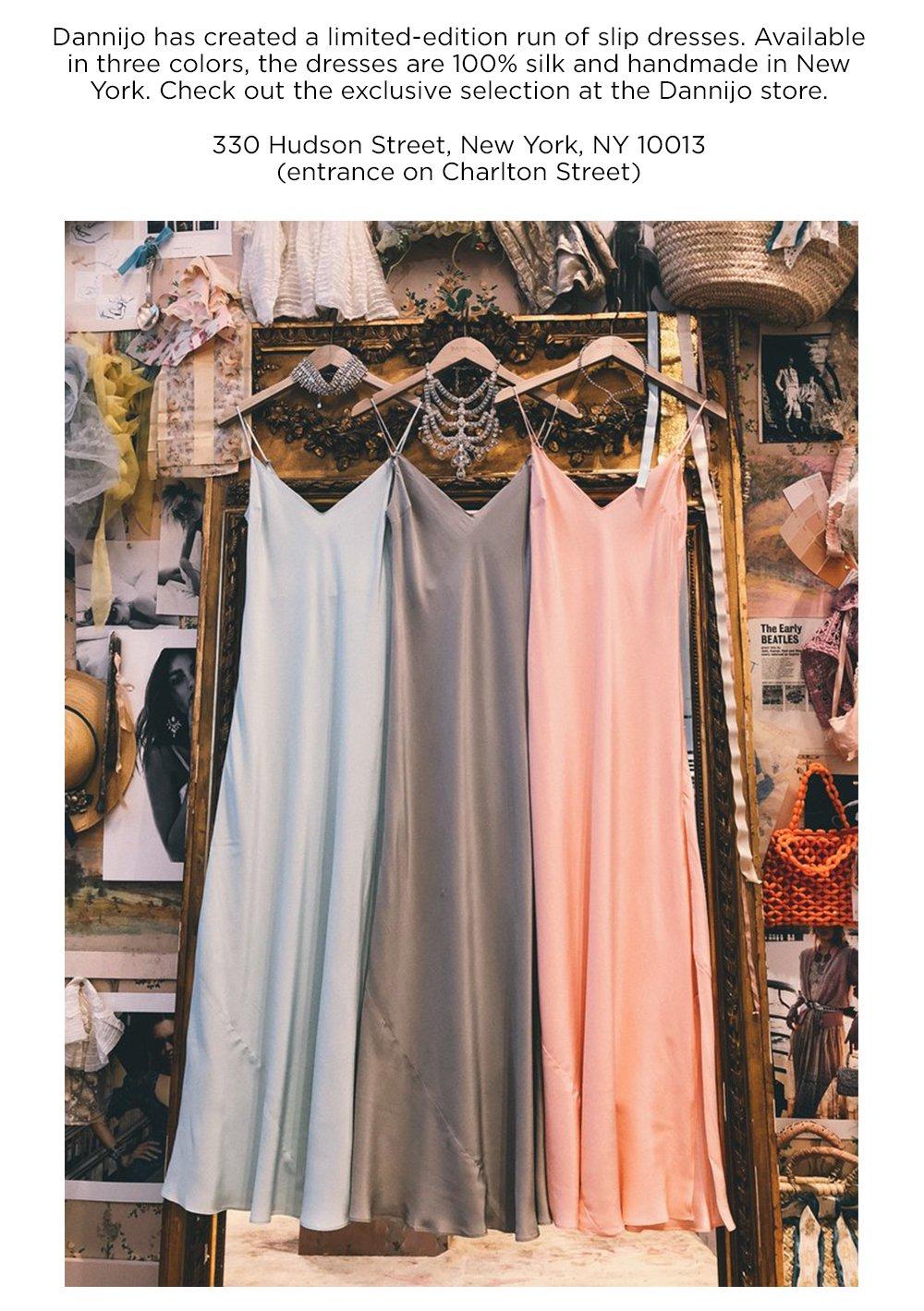 39b6eca5ce42 Dannijo: The Slip Dress is Back!   Milled