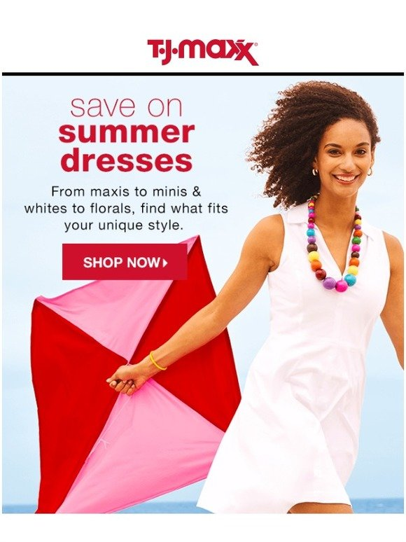 6362513073f3 TJ Maxx   Save on summer s easiest outfit…