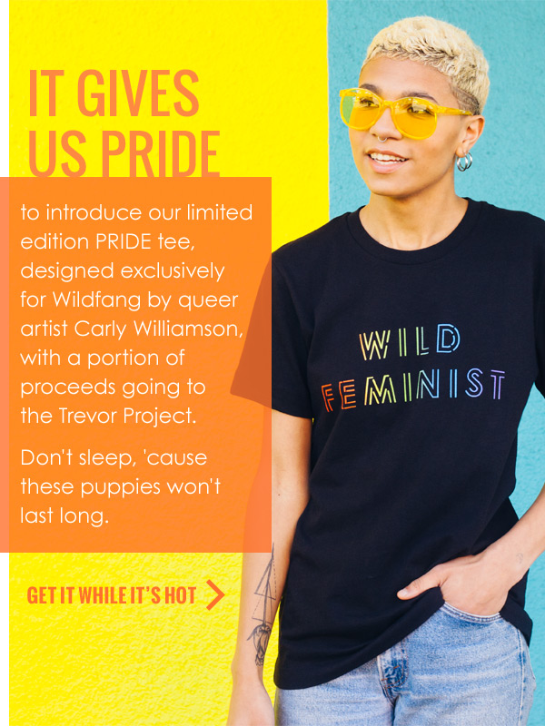 It gives us pride to introduce our limited edition pride tee