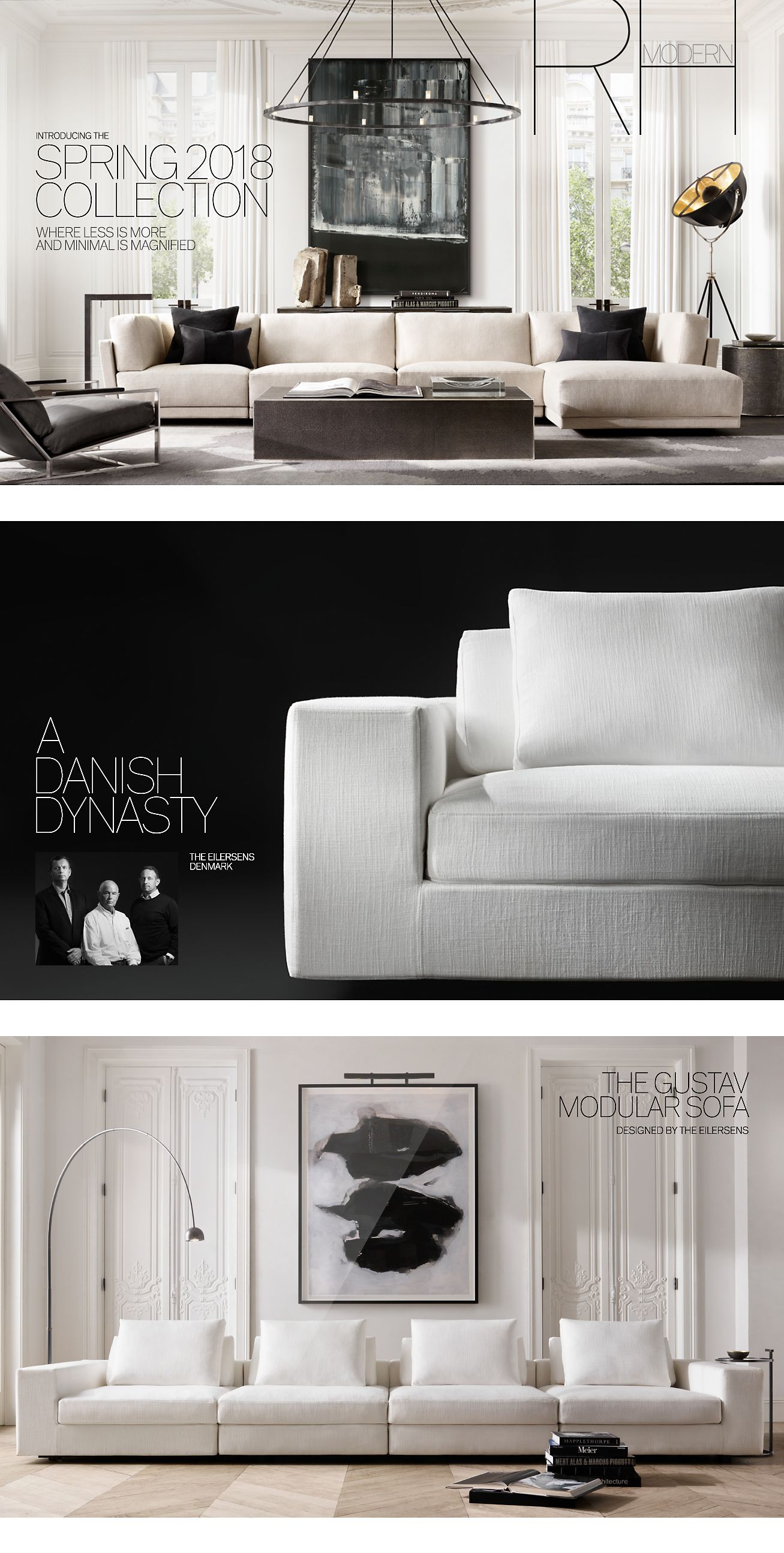 Restoration Hardware Rh Modern Introducing The Spring 2018 Collection Milled