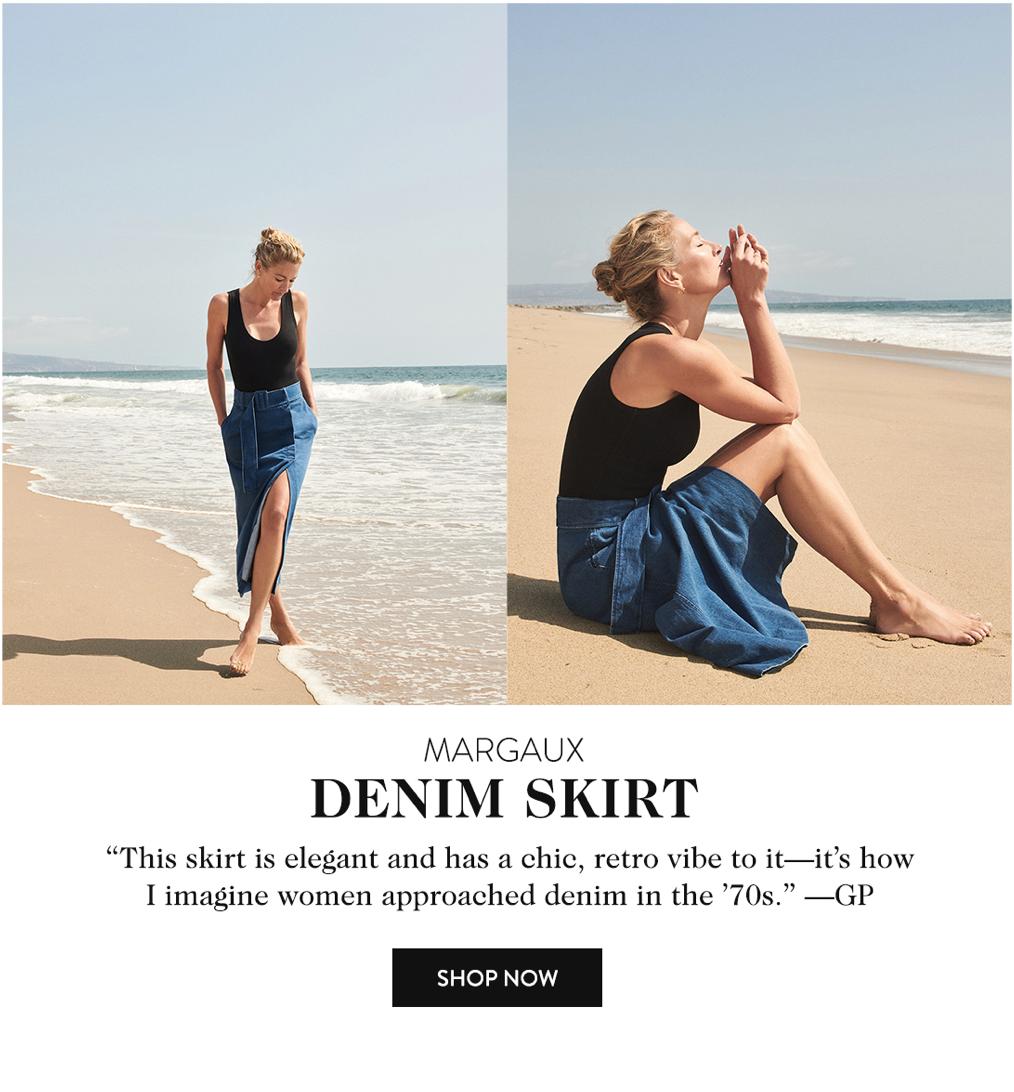 Margaux Denim Skirt