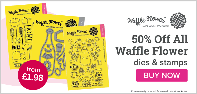 50% Off Waffle Flower