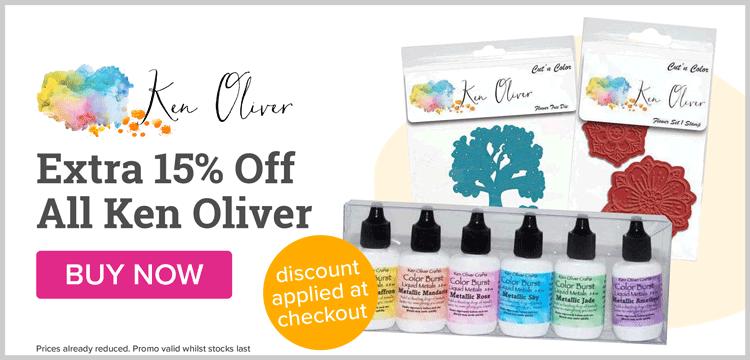 Extra 15% Off Ken Oliver
