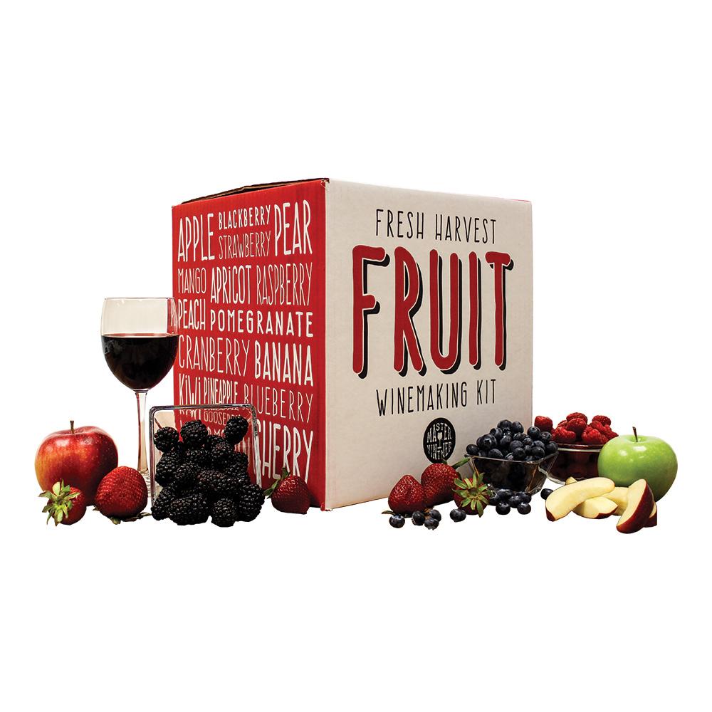 Fresh Harvest Fruit Winemaking Kit