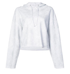 RtA Marvin Cropped Hoody