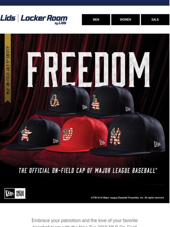 65cb597cac8810 New Era: Be the FIRST to score the 2018 July 4th 59FIFTY! | Milled