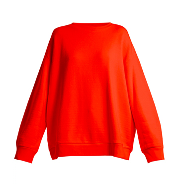 Crew-neck Japanese Jersey Sweatshirt