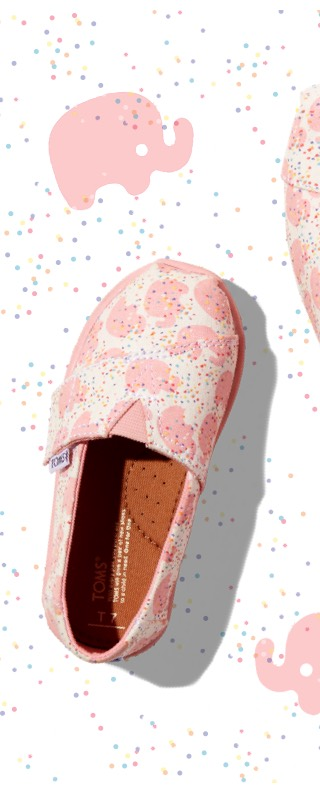 TOMS: Pink Elephant Classics with