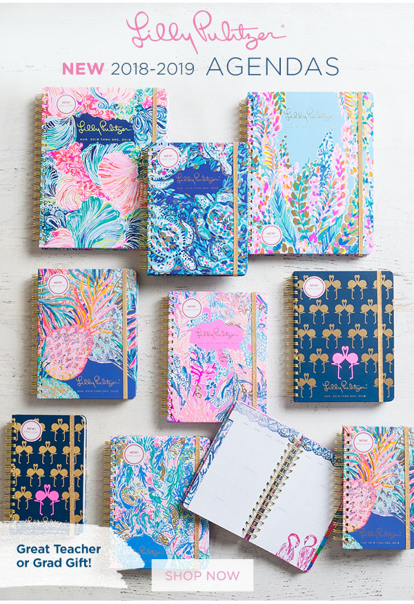 The Paper Store: NEW and HOT Agendas from Lilly Pulitzer | Milled